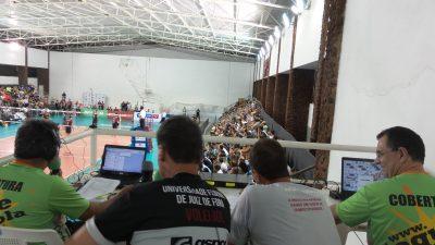 Transmissão jogo de vôlei em Juiz de Fora